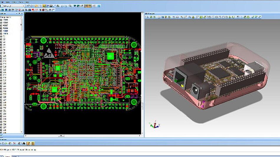 PADS mit 3D-Funktionen und Verbesserungen bei der Front-to-Back-Usability.