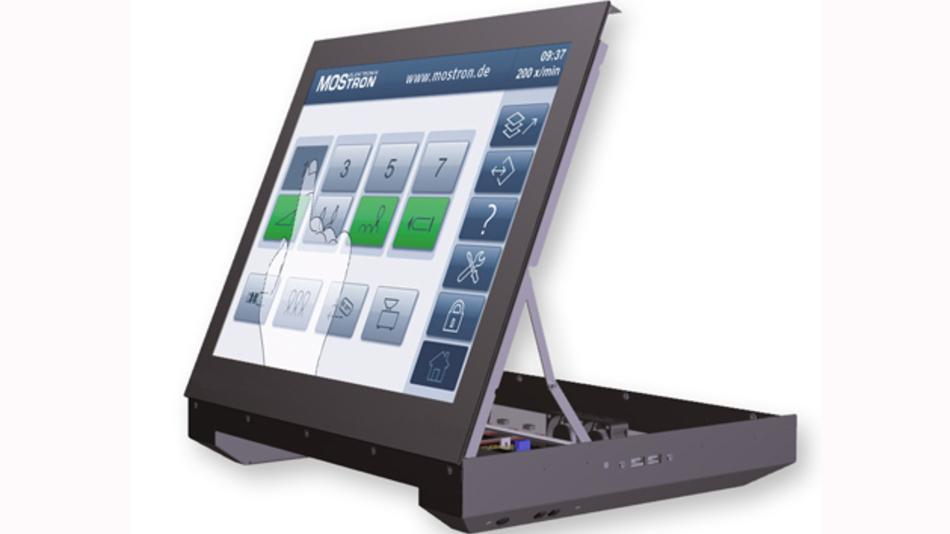 Mostrons PC-Panels für den industriellen Bereich sind einfach zugänglich und kommen ohne Öffnungen zur Belüftung aus.