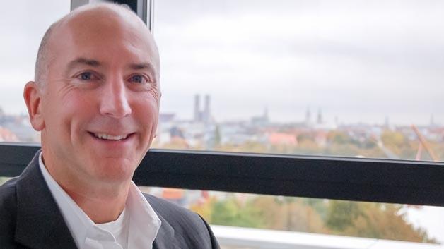 Präsident Dave Dohert im Münchner Büro von Digi-Key