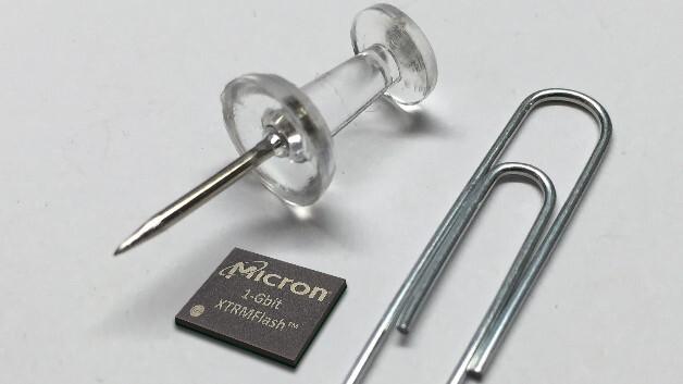 Datentransferraten von 400 MByte/s erreichen Microns serielle NOR-Flash-Speicher XTRMFlash, die es mit Kapazitäten von 128 MByte bis 2 GByte gibt.