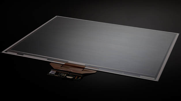 Mithilfe neu entwickelter kapazitiver Messtechnik und einer neuen Sensorstruktur und Geometrie kann »pressScreen« sehr kleine Verschiebungen des Deckglases erkennen.