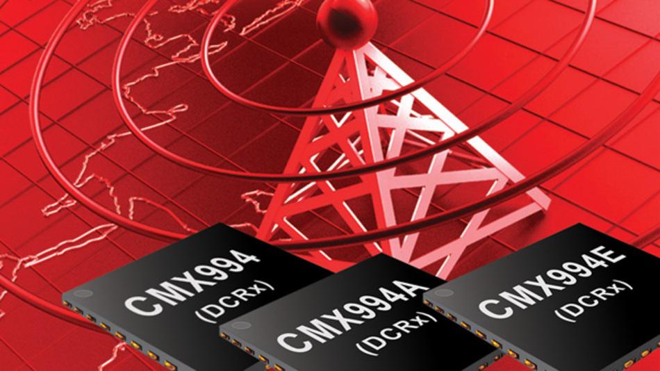 HF-Empfänger-ICs CMX994A und CMX994E von CML Microcircuits