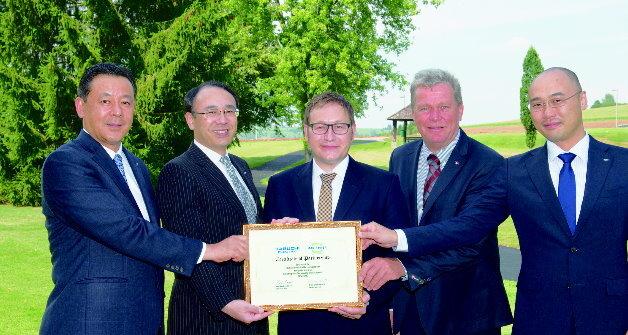 Erfolgreiche Partnersuche: Tabuchi Electric und Marschner bündeln ihre Kräfte.