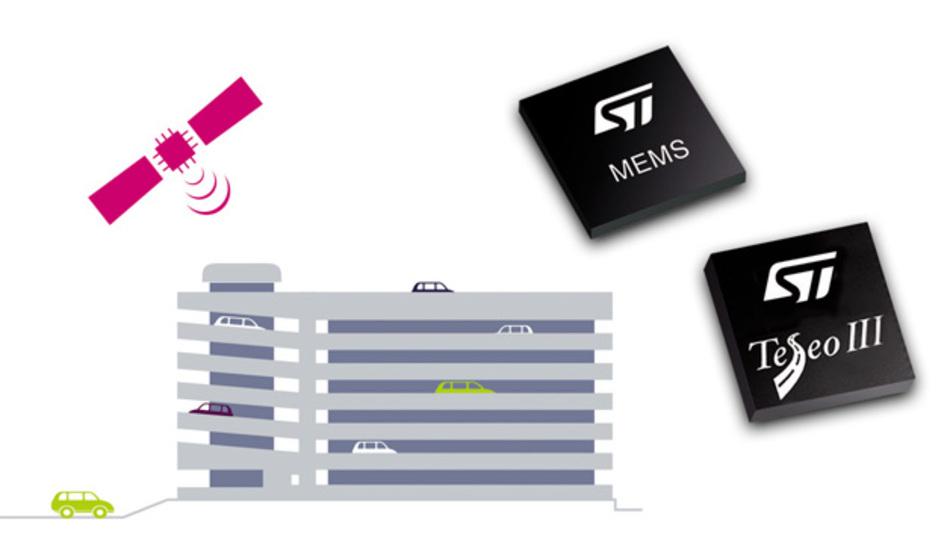 Firmware Teseo Draw von STMicroelectronics verbessert die Ortsbestimmung durch Koppelnavigation