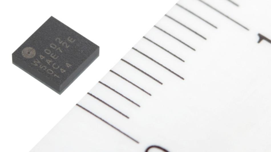 Transceiver-Modul SESUB-PAN-D14580 von der TDK Corporation soll nach eigener Aussage das weltweit kleinste Modul für Bluetooth LE (BLE 4.1) sein.