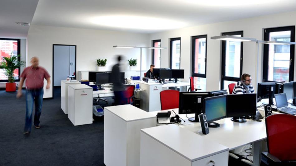 Die Büros für die ersten 34 Berliner Mitarbeiter von Würth Elektronik eiSos stehen bereit.