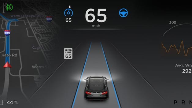 Autopilot per Software-Update im Tesla
