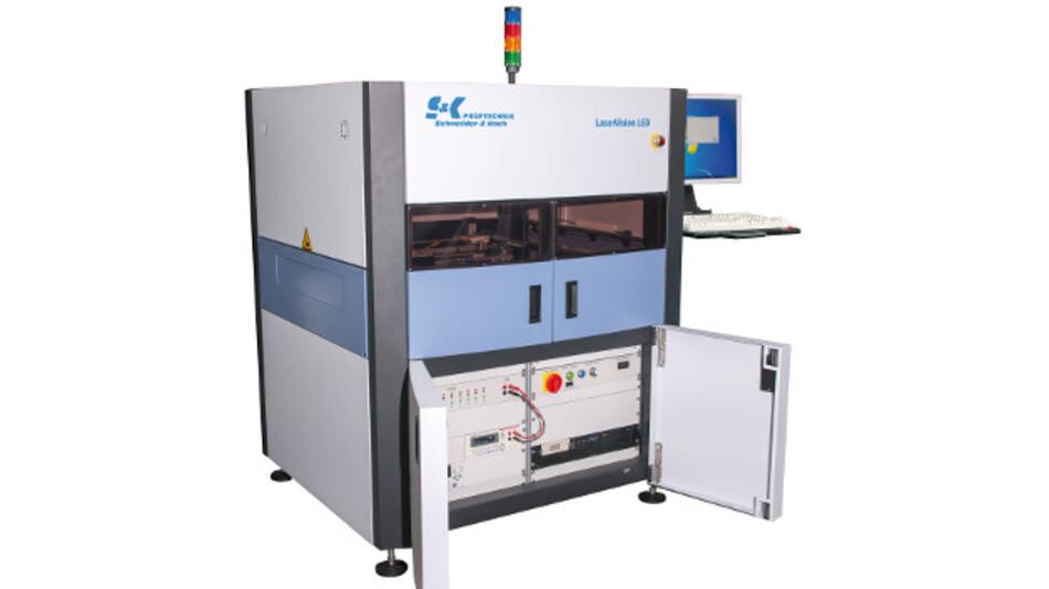 Testsystem »LaserVision LED« von Prüftechnik Schneider & Koch