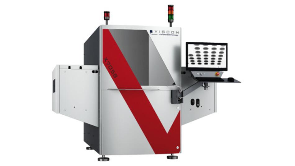 Viscom AXI-System X7058 für die vollflächige 3D-Röntgeninspektion