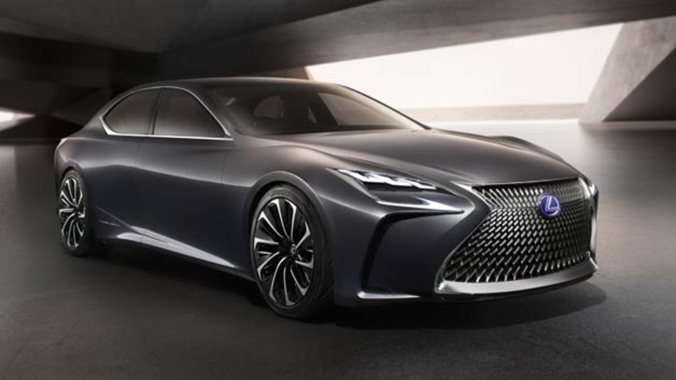 Lexus präsentiert auf der Tokio Motor Show die Studie LF-FC. Der Name verrät es schon; das Fahrzeug hat einen Brennstoffzellenantrieb.