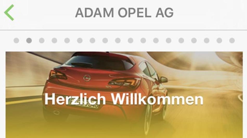 Opel arbeitet mit Job App Truffls zusammen, um neue Mitarbeiter zu gewinnen.