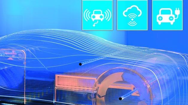 Die e-mobil BW-Studie »Automatisiert. Vernetzt.Elektrisch. - Potenzial innovative Mobilitätslösungen für Baden-Württemberg« analysiert die Entwicklung von automatisiertem Fahren und Elektromobilität.