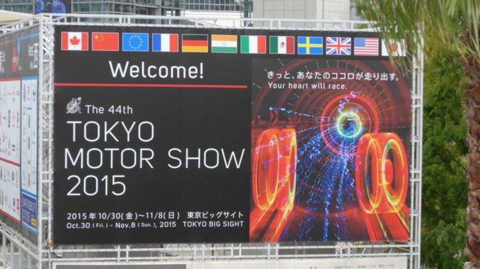 Your heart will race – das ist das Motto der 44. Tokyo Motor Show vom 30.10. bis zum 8.11.2015.