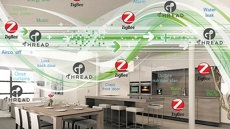 Es boomt in den Netzwerk-Märkten und Netzwerkprotokolle ZigBee und Thread sind gute Ergänzungen dazu.