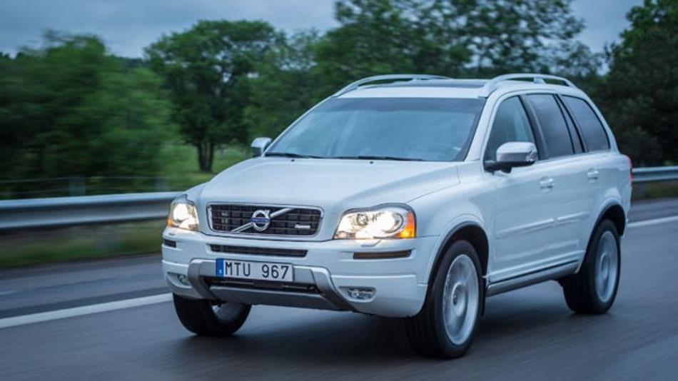 Im Volvo XC90 steht ab November 2015 Echtzeit-Verkehrsinformationen via Inrix Traffic zur Verfügung
