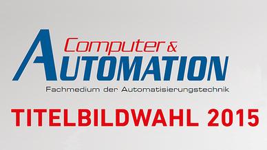 Titelbildwahl 2015 der Computer&AUTOMATION
