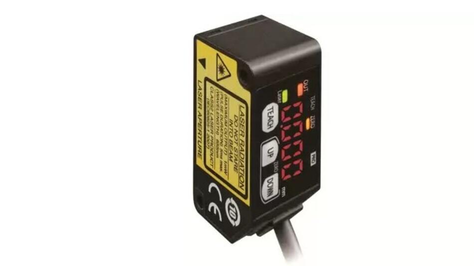 Mit Panasonics wasserdichten Mikro-Laserabstandssensoren der Serie HG-C (Vertrieb: Distrelec) wird ein Messabstand von 200 bis 400 mm erreicht.