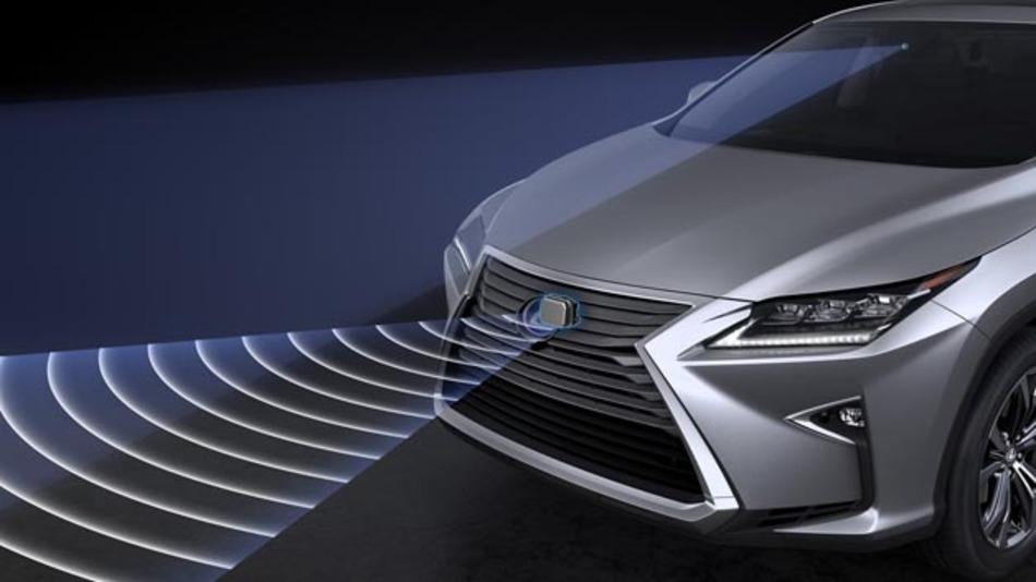 Der Lexus RX punktet mit aktiver Sicherheit sowie zahlreichen Fahrerassistenzsystemen.