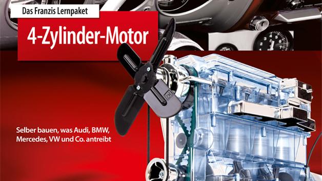Preis 4-Zylinder-Motor vom Franzis Verlag