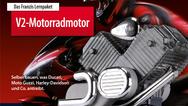 Preis V2-Motorradmotor vom Franzis Verlag