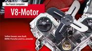 V8-Motor vom Franzis Verlag