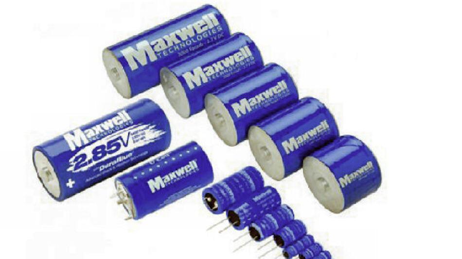 Ultrakondensatoren für Spannungsstabilisierungssysteme