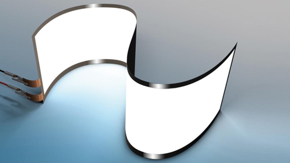 Es sind Applikationen wie falt-  oder aufrollbare Bildschirme,  die sich mit den Ergebnissen  aus dem Konsortialprojekt KONFETKT  in Zukunft einfacher durch den Einsatz  von ultradünnem Glas-auf-Rolle  realisieren lassen. (Bild: tesa)