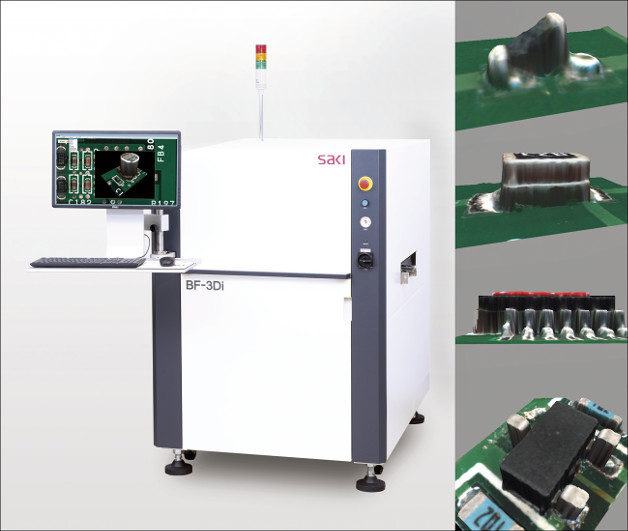"""Saki presents """"From Inspection to Measurement"""" – automated optical, solder paste, and X-ray inspection and measurement"""