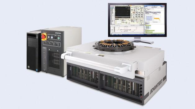 Advantests new EVA100 Production Model