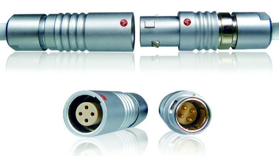 Push-Pull-Steckverbinder der Serie Y-Circ P