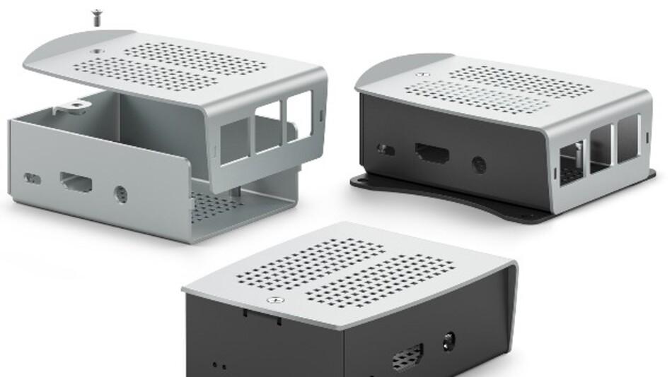 Den Einplatinen-Mini-Computer Raspberry Pi 2 Model B schützt Fischer Elektronik mit den Gehäusen der RSP-Serie vor diversen Umwelteinflüssen.