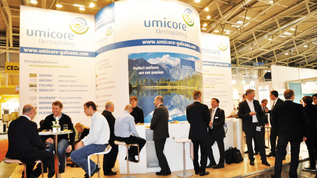 Umicore auf der productronica 2015