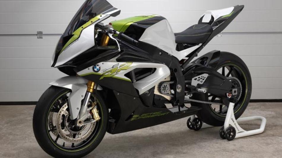 Die eRR ist der Versuchsträger eines Supermotorrads mit Elektroantrieb.