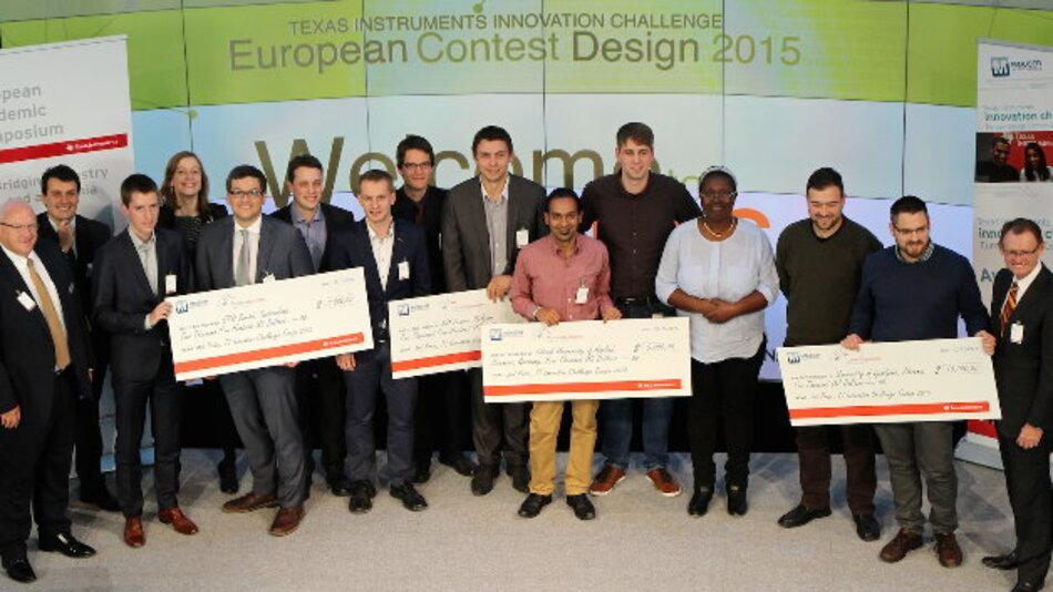 Dieses Jahr ging der erste Preis an die Universität von Ljubljana (Slowenien).