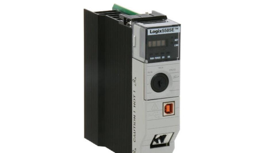 Bis zu 300 Ethernet-Netzknoten unterstützt die High-End-Steuerung »ControlLogix 5580« von Rockwell Automation.