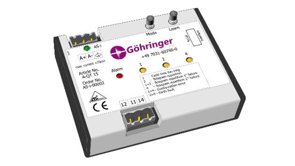 Über verschiedene LEDs meldet der »Quicktester A-QT 15« Fehlfunktionen und Störungen in AS-Interface-Netzwerken.