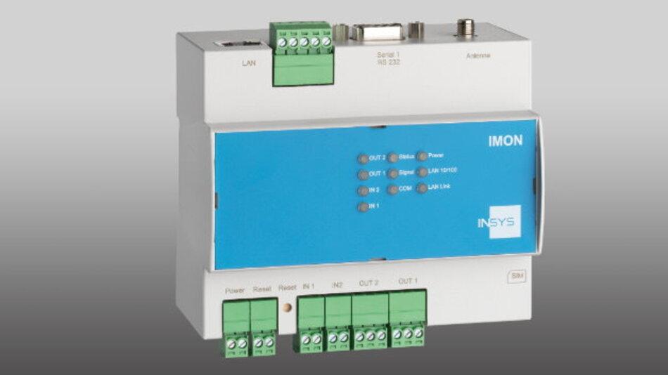 Ab Januar 2016 erhältlich ist der Störmelder »IMON-U300« von Insys icom.