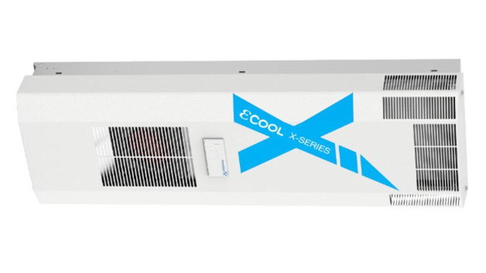 Nicht nur kommunikations-, sondern sogar Cloud-fähig sind die Kühlgeräte der Serie »εCool X« von Pfannenberg.