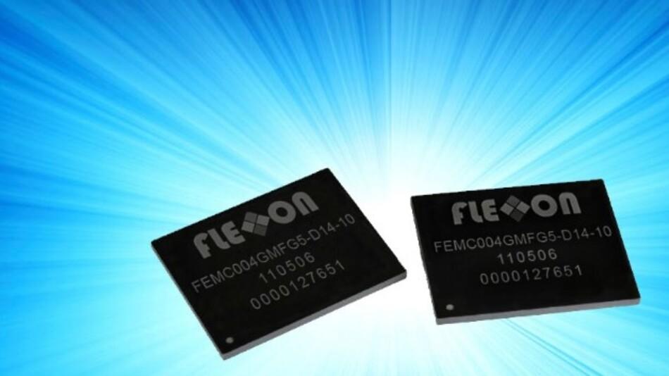 Auf Märkte wie Medical, Security und Automotive fokussiert Flexxon mit den hochintegrierten eMMC-NAND-Flash-Lösungen (Vertrieb: Atlantik Elektronik).