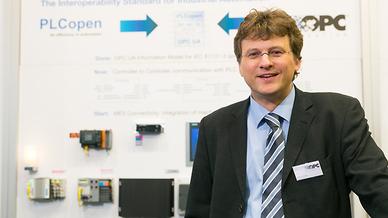 Stefan Hoppe von der OPC Foundation
