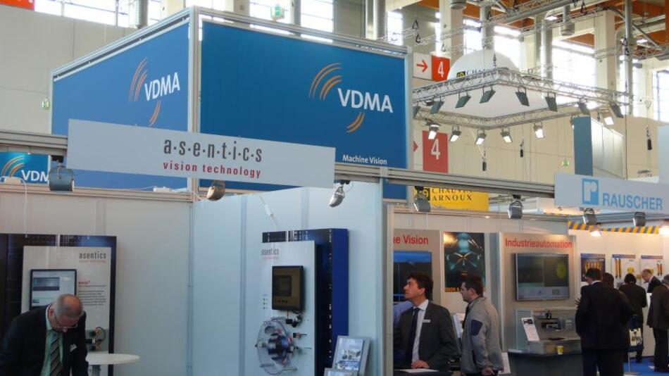 Der VDMA-Gemeinschaftsstand Bildverarbeitung auf der SPS IPC Drives