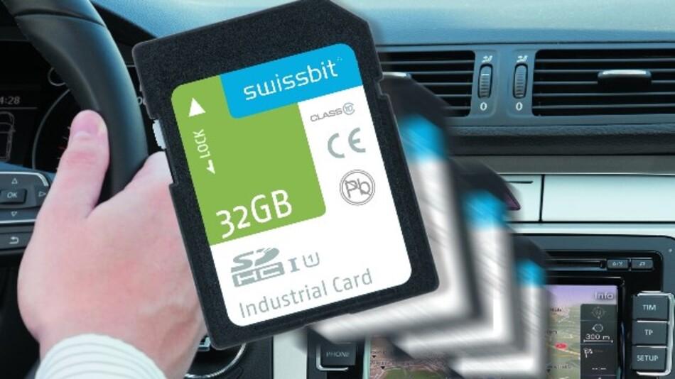 Dank der Implementierung der Firmware-Seitenverwaltung in den SD-Karten S45 kann Swissbit preiswertes MLC-NAND anstelle von teurem SLC-NAND einsetzen, ohne dass die Lebensdauer der Karte stark beeinträchtigt wird.