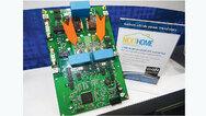 Das NextHome-DC-Wandler-Board mit den Hochleistungstransistoren GS66506P von GaN Systems