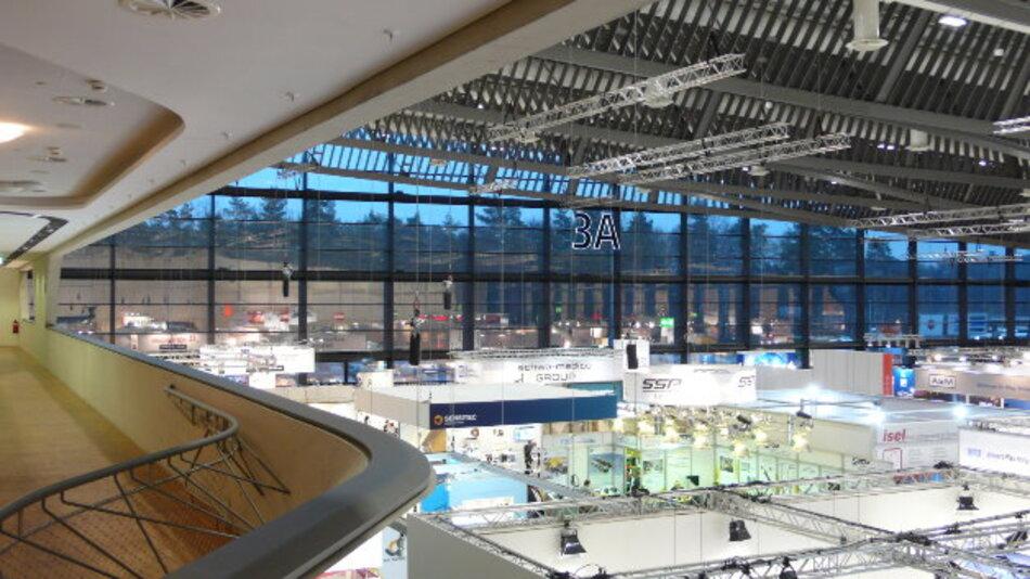In der nach Entwürfen von Stararchitektin Zaha Hadid erbauten Halle 3A war erstmals die »Industrie 4.0 Area« mit Forum »Automation meets IT« angesiedelt.