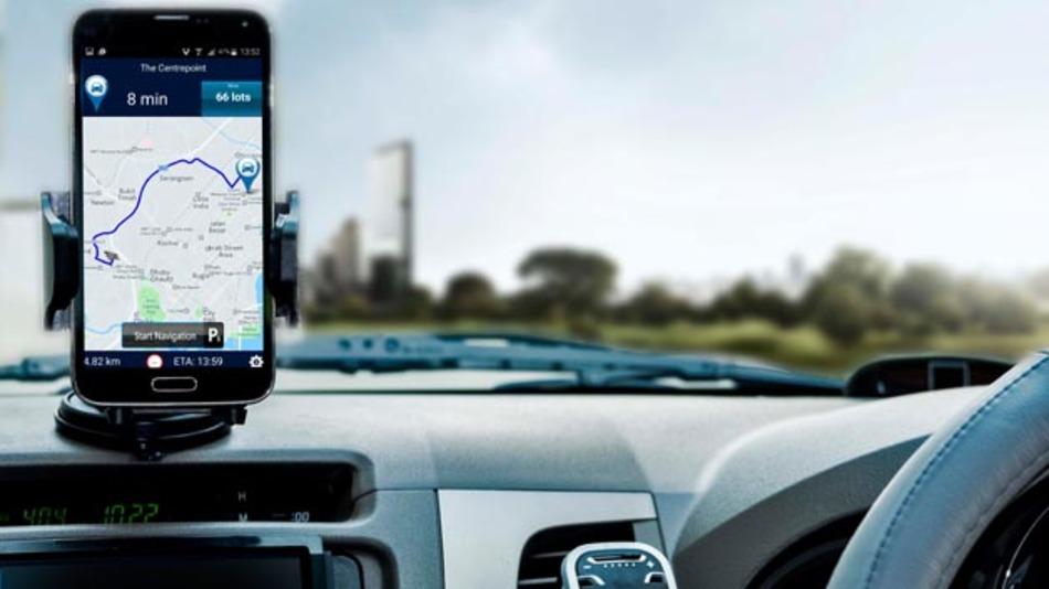 Parkplatzsuche leicht gemacht: Für Singapur hat Continental die Parkplatz-app Park&Go @SG entwickelt.
