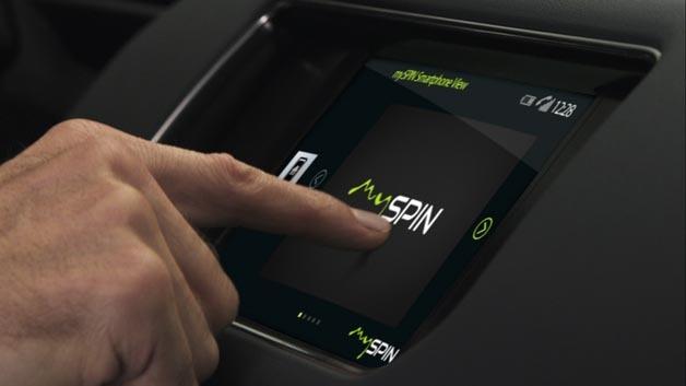 mySpin ist die Lösung zur Smartphone-Integration von Bosch, die sich nach Herstelleraussagen an dritter Stelle nach Apple CarPlay und Google Android Auto positionieren soll.