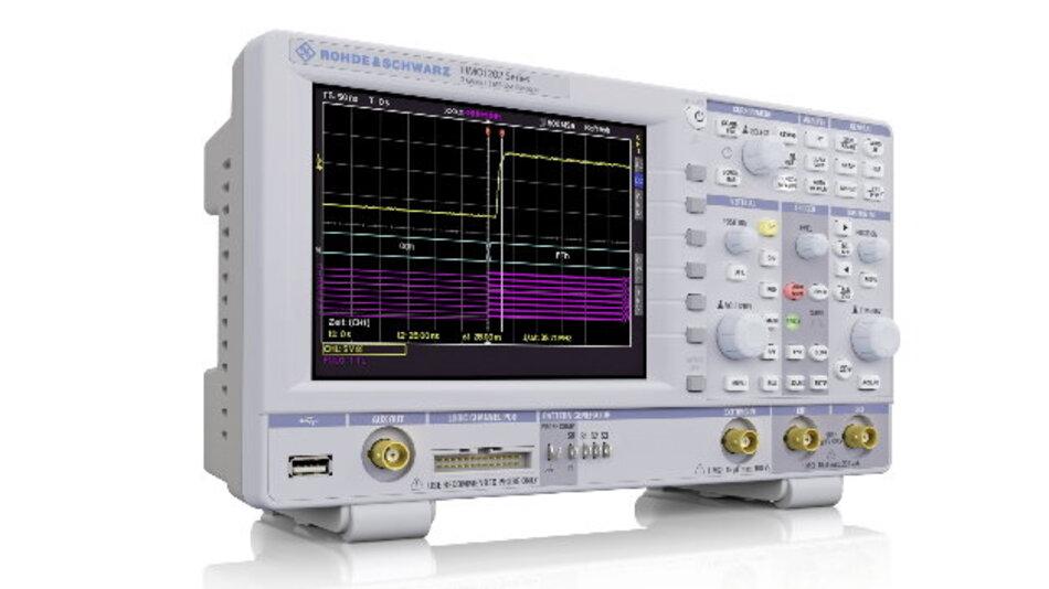 Zuwachs im Value-Instruments-Segment von Rohde & Schwarz: Die MSO-Serie R&S HMO1202