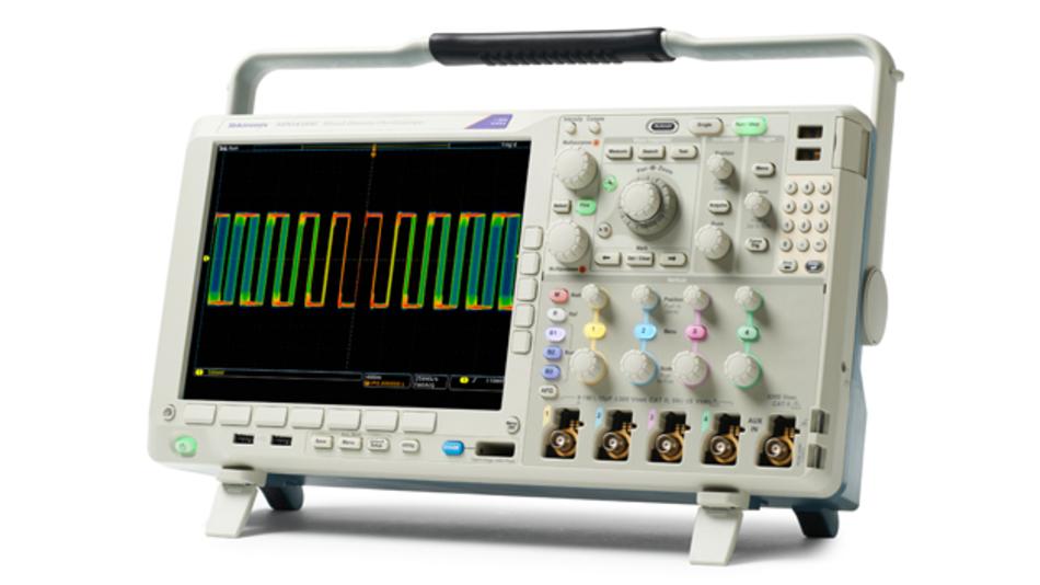 Das Tektronix MDO4000C vereint bis zu sechs Geräte in einem.