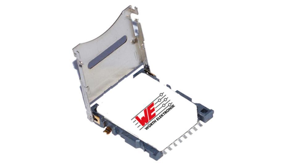 Der Sockel für Mega-SIM-Karten von Würth Elektronik eiSos.