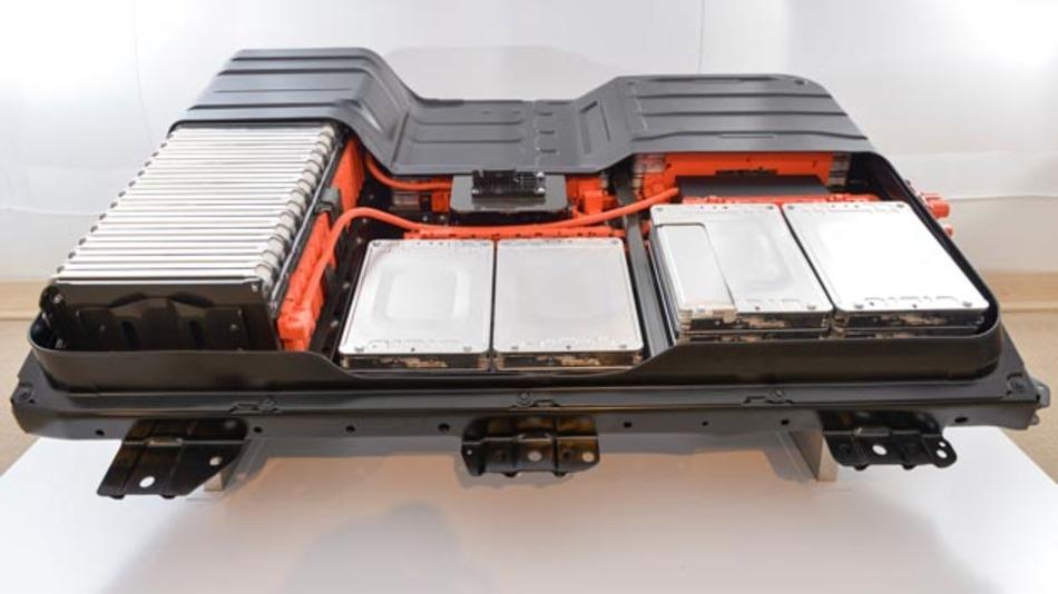 Bisher im Nissan Leaf eingesetzte 24 kWh Batterie